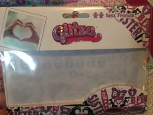 kids craft glitter art glitza8