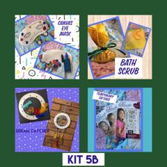 school holiday craft kits
